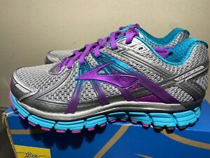 New Brooks Adrenaline GTS 17 Women's Sz 9.5 2E EE (Extra wide) Running Shoes NOS