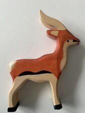 Holztiger Antilope neu und unbespielt Rarität