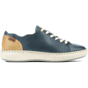 Pikolinos Womens Shoes Mesina W6B-6836 Casual Lace-Up Leather