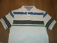 Tommy Hilfiger Men's Slim Striped Polo Casual Shirts & Tops