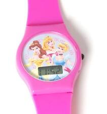 Disney Princess Digital Hot Pink Strap Girls Watch