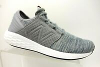 New Balance Blue Grey Knit Mesh Athletic Sport Lace Up Running Shoes Men's 9.5 D