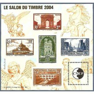 "BLOC CNEP N°_41 ""SALON DU TIMBRE 2004"""