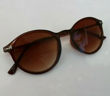 LACOSTE Sunglasses Brown Round Eye Women