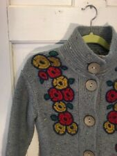 ANTHROPOLOGIE SPARROW PIGMENT STITCH SWEATERCOAT SIZE Small WOOL BLEND