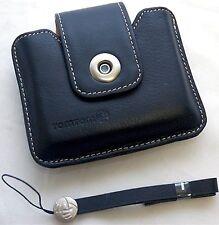 NEW Genuine TomTom ONE 130S 140S GPS Leather Case BLACK Start² EASE 2nd 3rd v3 S
