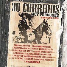 Various Artists : 30 Corridos Muy Perrones [2 CD] CD