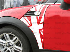 Banderas guardabarros-adhesivo Fender decal F. BMW Mini Cooper r56 Works Union Jack
