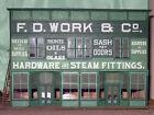 RGS WORKS HARDWARE STORE HO Railroad Structure Craftsman Unptd Wood Kit CM38151