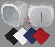 Photograpy Light Cube Tent - 90cm - Photo Studio Shooting Product 4 Backdrops