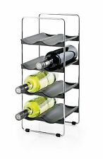 Blomus 8-Bottle Wine Rack, Black / Silver