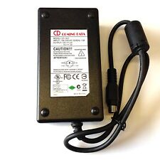 GENUINE ORIGINAL COMING DATA CP-1207 POWER SUPPLY ADAPTOR 12V 2A 5V 3A 6 PIN DIN