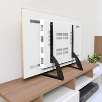 Universal LCD Flat Screen TV Table Top Stand Base Mount Super Stable Feet 27-65""