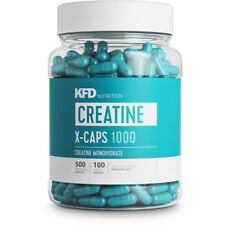 KFD Creatine X-CAPS - 500 capsules - brand new free delivery