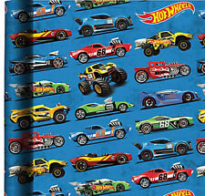 HOT WHEELS WRAPPING PAPER ROLL GIFT WRAP ANY OCCASION 20 SQ. FEET