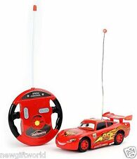 New Mcqueen Stylish 4 Function Remote Control Car - Fast Speed Smooth Drive