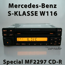 Original Mercedes Special MF2297 Cd-R W116 Radio S-CLASS V116 Car Radio 1-DIN