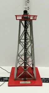 AMERICAN FLYER 769 REVOLVING BEACON TOWER Tested Working Scuff on Corner