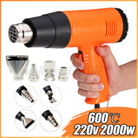 220V 2000W Electric Heat Gun Hot Air Heating Tool Shrink Wrapping Thermal Power