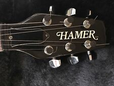 WOW Hamer USA  Explorer 1980s guitar Excellent  Amazing Guitar Los Angeles Based