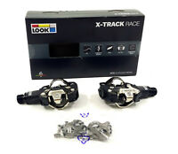 LOOK X-Track Race Carbon Mountain Bike Clipless Pedals w/ Cleats