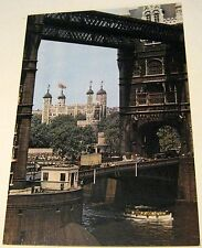England The Tower of London & Tower Bridge Lon 956 J Arthur Dixon - unposted