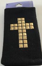 Black Cross Mobile Phone Sock Mother's Day Birthday Gift