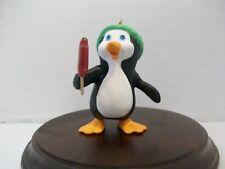Hallmark Keepsake Ornament Icy Treat 1987 Penguin Popsicle