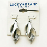 New Lucky Brand Trumpet Shell Drop Earrings Gift Vintage Women Party Jewelry FS