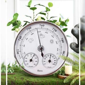 Barometer Indoor 3In-1 Outdoor Hygrometer Weather Station High Weather ForecastS