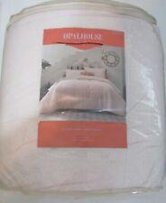 Opalhouse Lazarus Floral F/Q Comforter Set 3 pc pink blush new