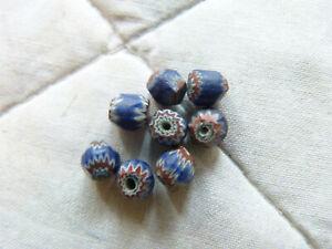 Ancient Venetian 7 layer Chevron Beads, 1500s, small beads, Trade Beads