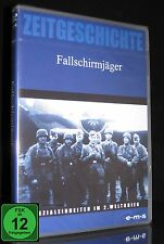 DVD FALLSCHIRMJÄGER IM ZWEITEN WELTKRIEG - Zeitgeschichte - Monte Cassino * NEU