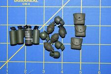 1:6 Military US Green Smoke Grenades Pouches Toy (Lot of 15) C-175