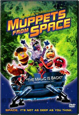 Disney Jim Henson The Muppets from Space Sci-Fi Comedy on DVD Kermit Ms. Piggy
