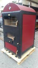 Termoforno Termocamino con forno 48 kw Metalfer collegabile ai termosifoni