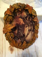 "New ListingThe Bradford Exchange, Season of the Wolf ""Eyes of Autumn"" Collectors Plate"
