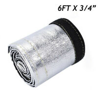 Heat Shield Sleeve Insulated Wire Hose Cover Wrap Loom Tube Replacement Kit Set