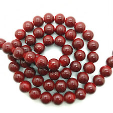 New 4mm 6mm 8mm 10mm Glass Pearl Round Spacer Loose Beads Jewelry Making