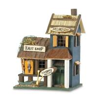 Songbird Valley SLC-31245 31245 Bass Lake Lodge Birdhouse, Multicolor