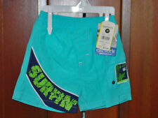 CARTERS BABY BOYS TURQUOISE SURFIN SWIM TRUNKS SIZE 12 MONTHS NEW WITH TAGS