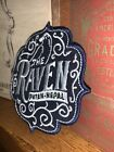Inspired By Jock Lindsey's Hanger Bar THE RAVEN Coaster Embroidery patch
