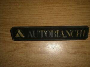 Emblem Badge Autobianchi A 112 ca. 15 x 3 cm