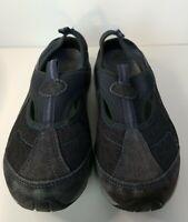 Easy Spirit Alpine Suede Sling Back Shoes Women's size 6 Navy Blue