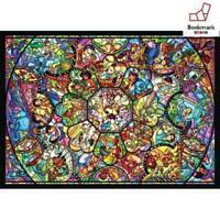New Disney 500 Piece Jigsaw Puzzle  All Star Stained Glass F/S from Japan
