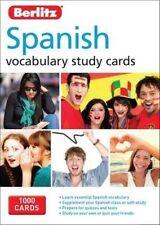 Berlitz Language Spanish Study Cards 3e APA Publications Limited 9781780044613