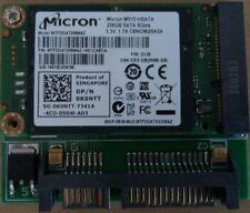 Micron M510 256GB mSATA SSD HDD 6Gb/s MTFDDAT256MAZ + SATA Adapter