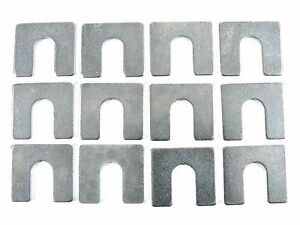 "Ford Truck Body & Fender Alignment Shims- 1/16"" Thick- 3/8"" Slot- 12 shims- #398"