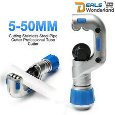 Adjustable 5-50mm Cutting Stainless Steel Pipe Cutter Professional Tube Cutter