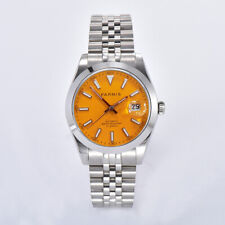 New Parnis 39.5mm Miyota 8215 Movement Automatic Mechanical Mens Wristwatch